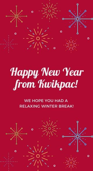 happy new year from kwikpac