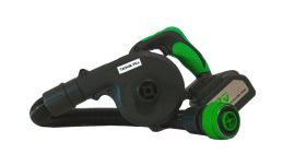 Kwikfill cordless dunnage bag inflator with two batteries