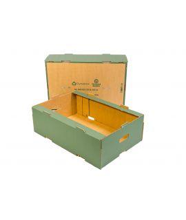 Green Dynabox™ Cardboard Produce Trays