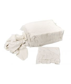White Cotton Cleaning Rags