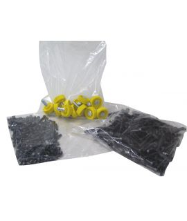 "Clear Polythene Bags - Light Duty - 5"" x 7"""