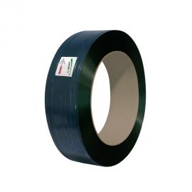 Black Tornado extruded polyester strapping