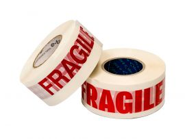 e-tape™ 'Fragile' & 'Caution' Printed Tape