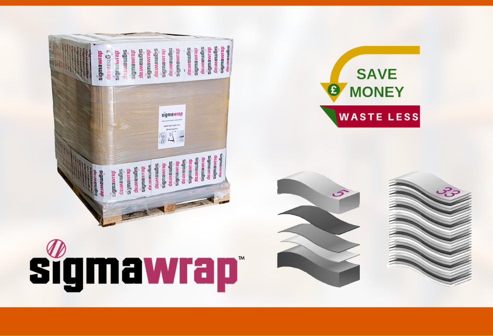 Save Money & Waste Less With Our Sigmawrap™ Pre-Stretch Machine Film