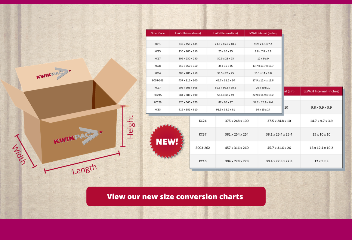 We've Made Ordering Cardboard Boxes Even Easier!