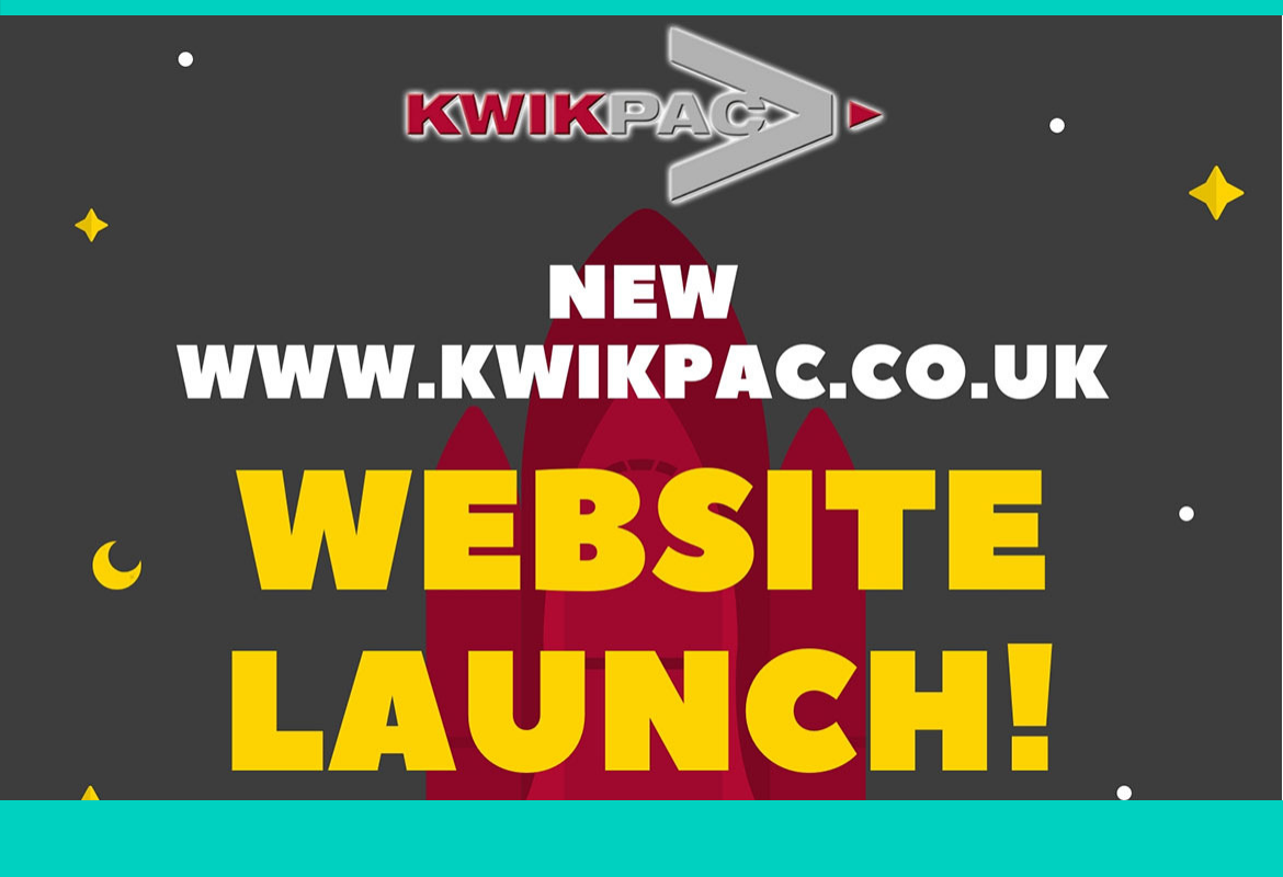 New Kwikpac Website Launch!