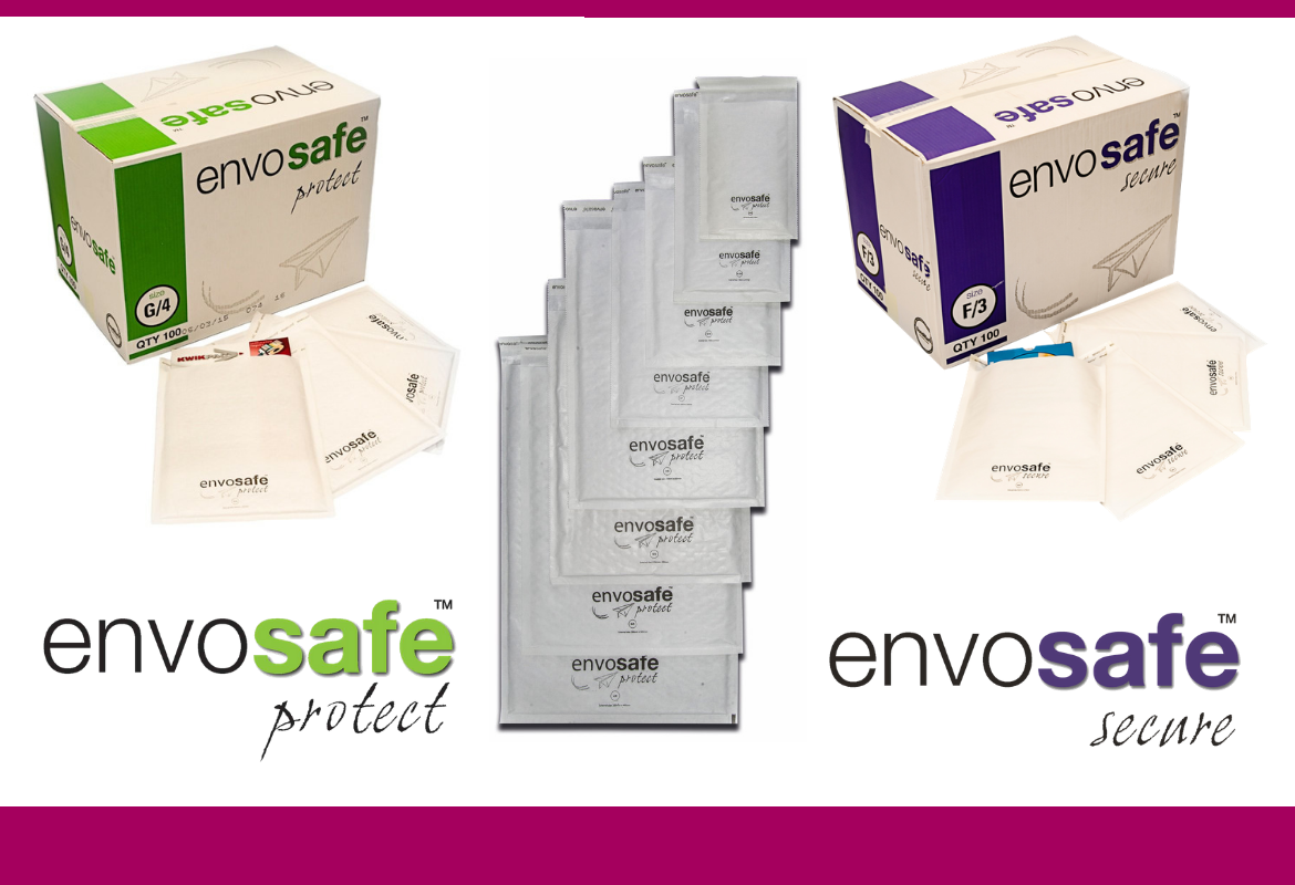 Envosafe™ Bubble Envelopes: Safely Secure & Send Your Goods in the Post