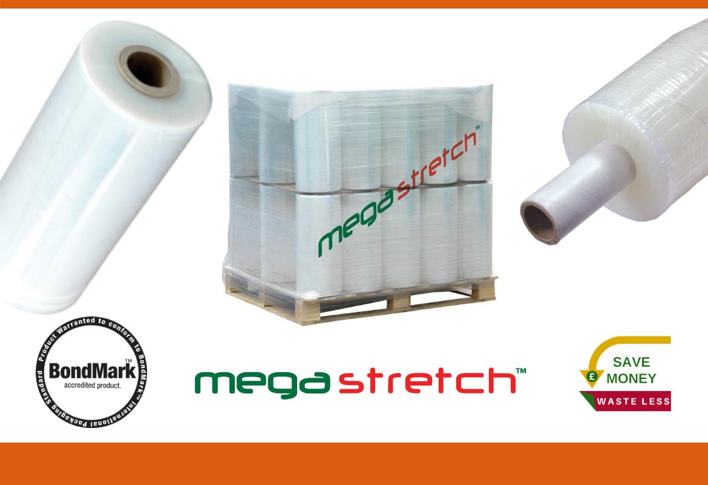 Megastretch™ Stretch Film for MEGA Pallet Stabilisation!