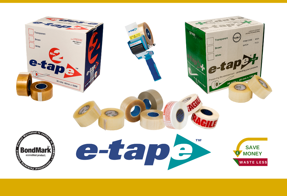 Why is e-tape™ Adhesive Packing Tape So Popular?