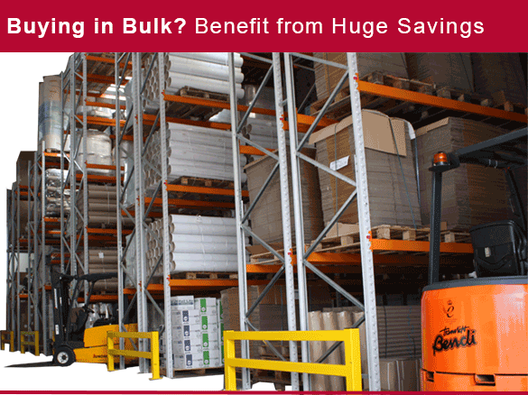 Get in touch to discover bulk discounts on packaging
