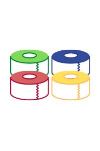 custom tape colours