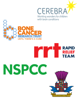 we have previously sponsored cerebra, bone cancer research trust, the rapid relief team, nspcc, and 225 medical regiment voluneers