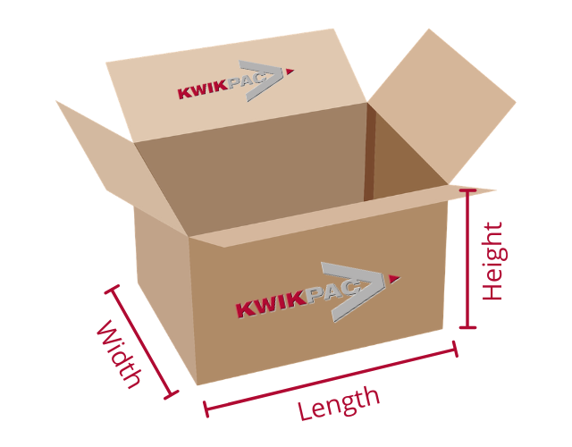 Box dimensions | Kwikpac