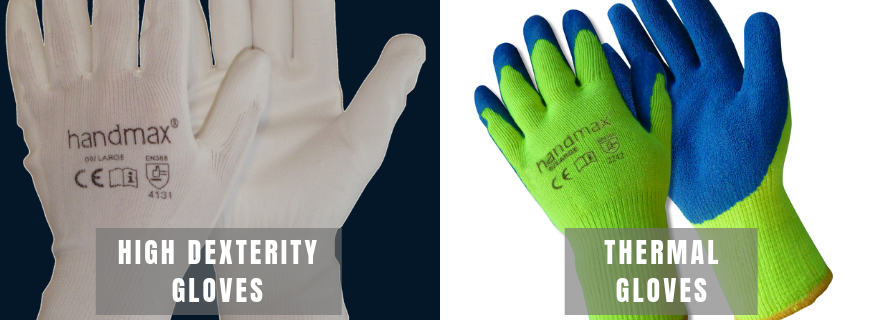 work gloves for warehouse operations