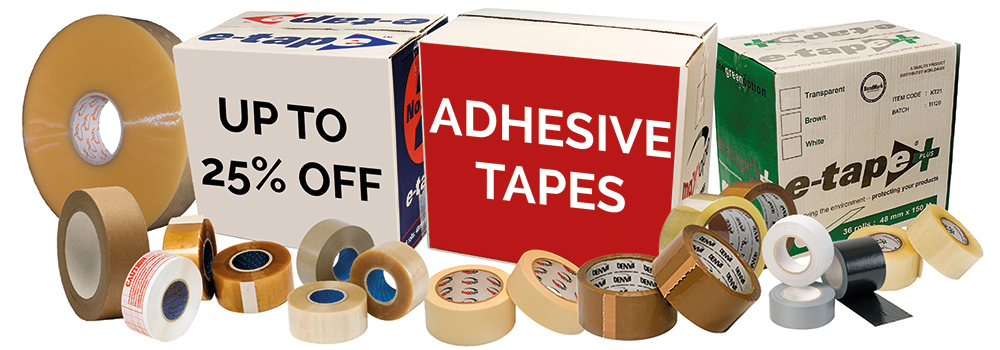 Adhesive Tapes Offer - October 2019