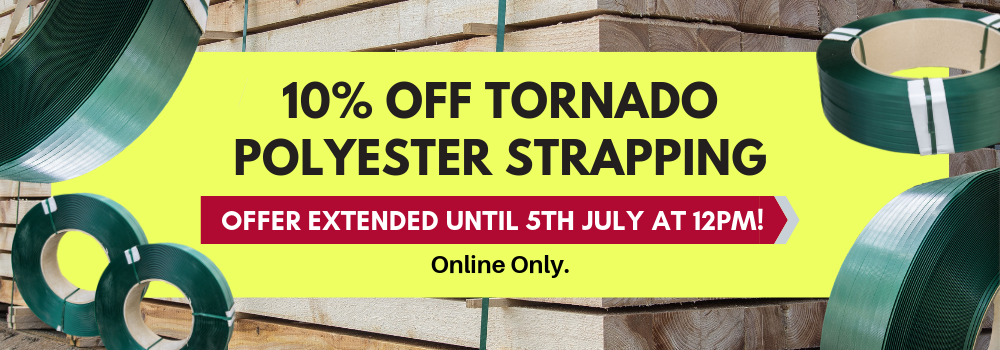 Tornado Polyester Strapping Offer June 2019