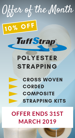 CORDED, CROSS WOVEN AND COMPOSITE STRAPPING OFFER