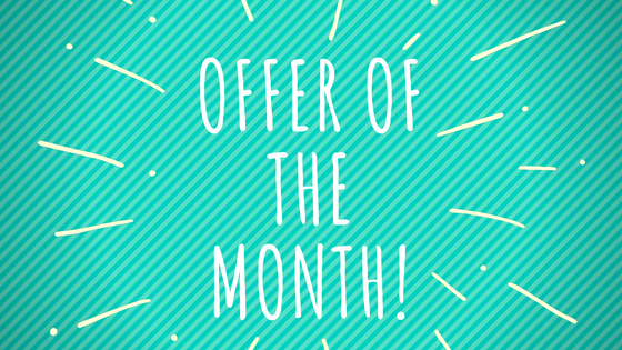 Monthly offers and savings on packaging and strapping