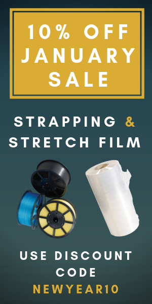 10% Off Strapping and Pallet Wrapping