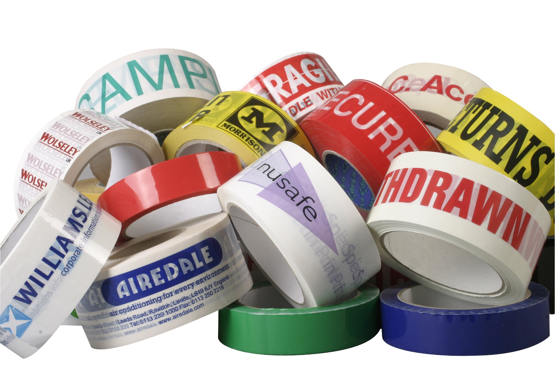 Custom bespoke tape for your business