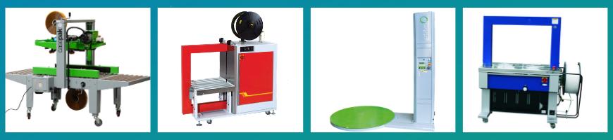 caspak automatic taping machine, strapping machine, orbit wrap pallet wrapping machine, strapping machine
