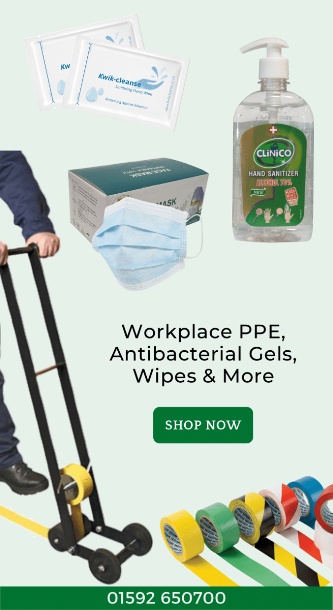 Workplace PPE from Kwikpac
