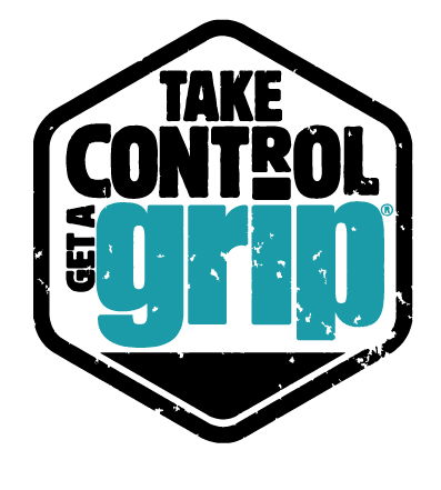 Take control get a grip logo - grip stretch film