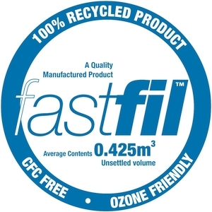 Fastfil loosefill for protecting goods in transit