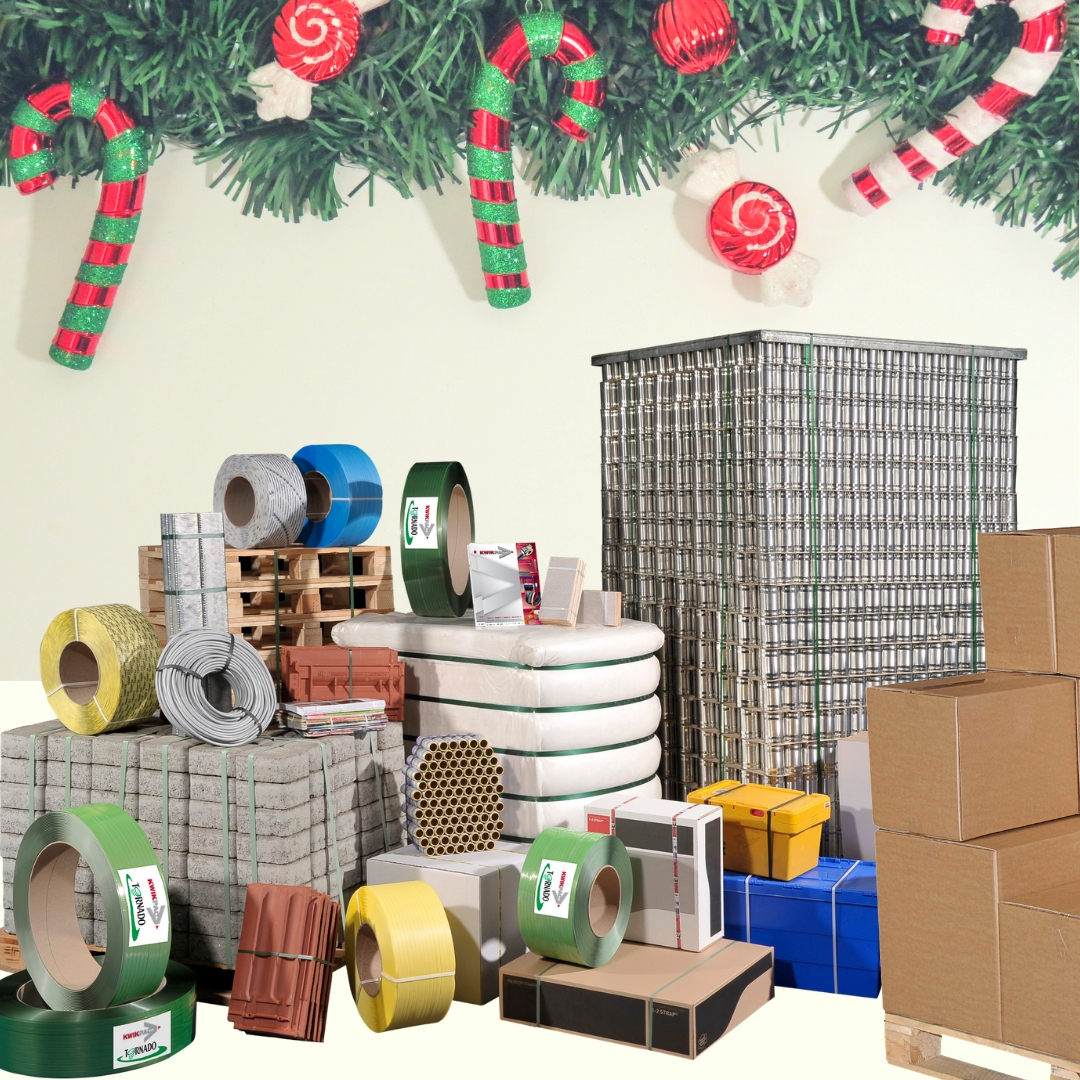 Boxes, tape & packaging supplies for Christmas