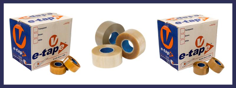 e-tape vinyl packing tape