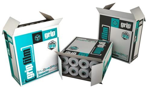 Grip film system