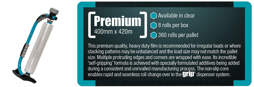 grip premium stretch film