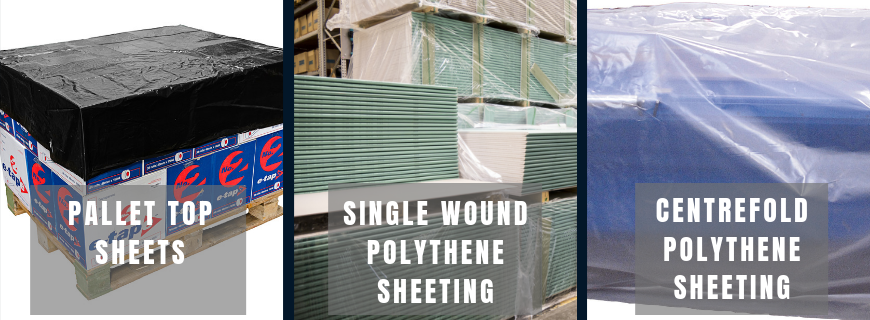 polythene sheeting and pallet covers