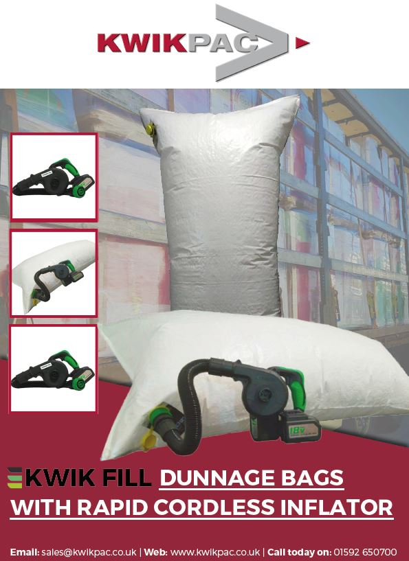 View the Kwik Fill Dunnage Bags Brochure