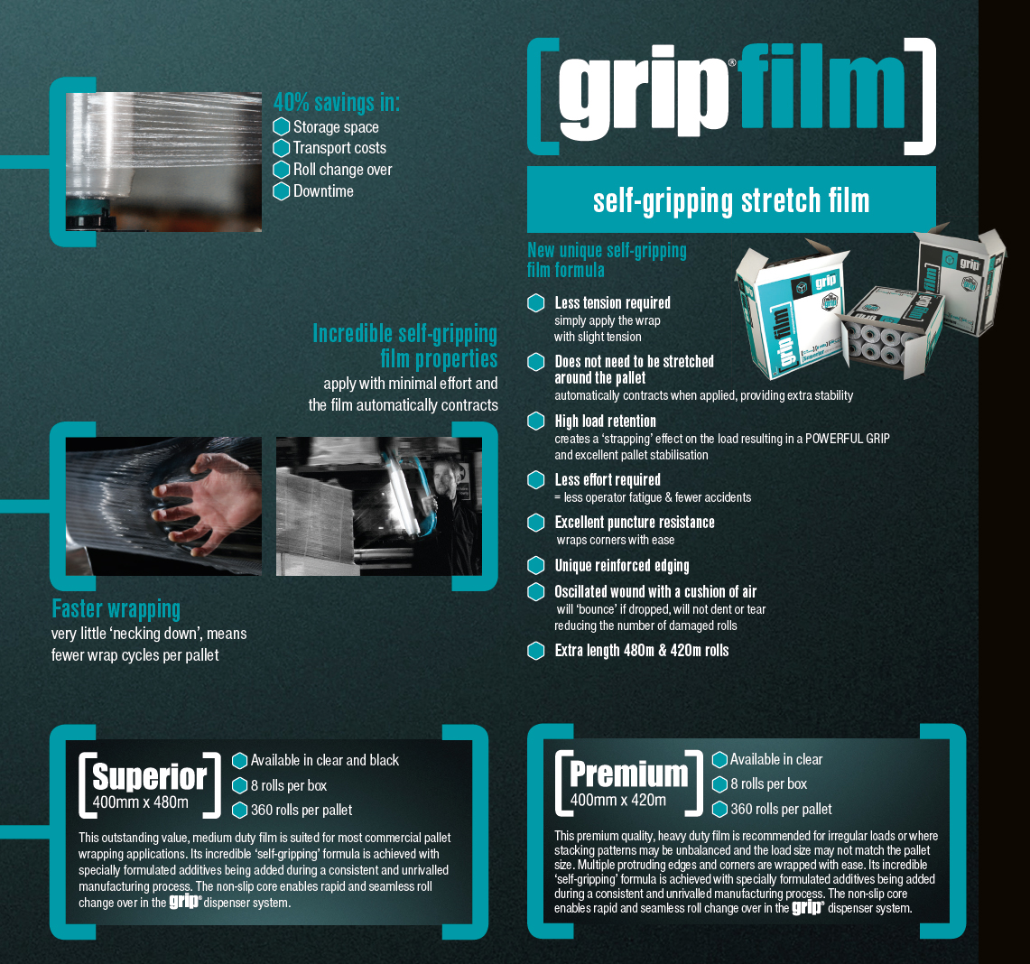 grip film stretch film