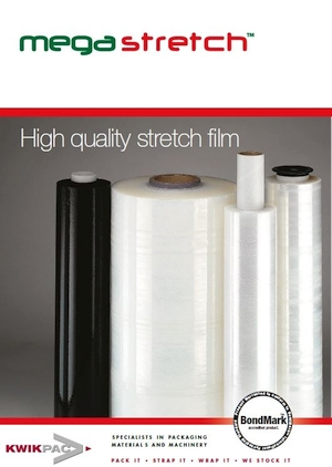 Megastretch stretch film brochure