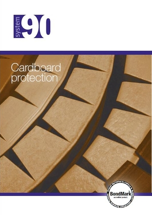 System 90 cardboard edge guards