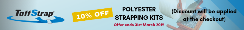 10% off corded static strapping kits